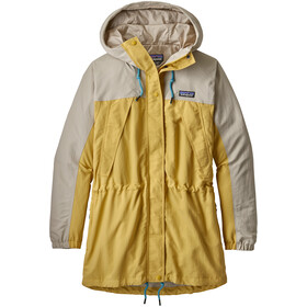 Patagonia Skyforest Jas Dames, surfboard yellow